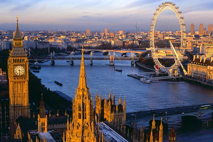 Londres (voando British Airways) - 7 dias