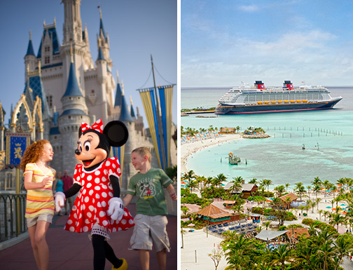 Momentos Mágicos - Cruzeiro e Hotel Disney